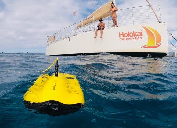 mini underwater drone Immersive Underwater VR